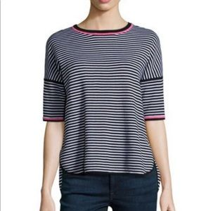 Belford Reversible Striped Pullover Top